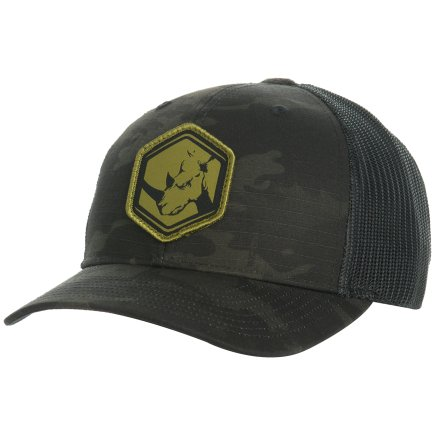 Black MC Trucker