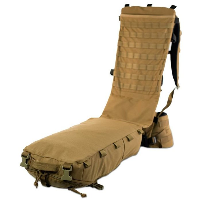 Stryker Cargo Panel (Bag only) - Coyote Brown Open