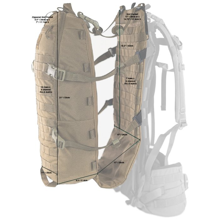 Stryker Cargo Panel (Bag only) - Specs