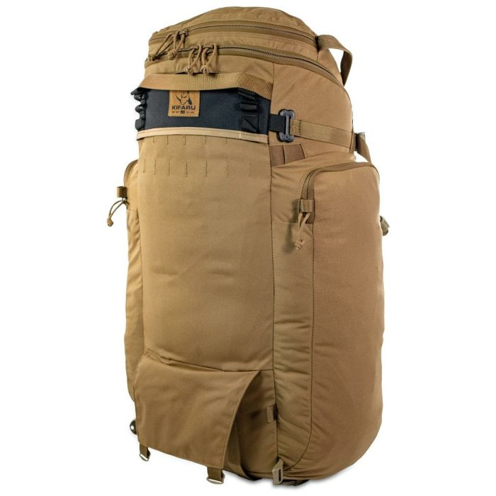 44 Mag (4,400 ci - 72 L Bag only) Back Diagonal Photo of Coyote Brown Color