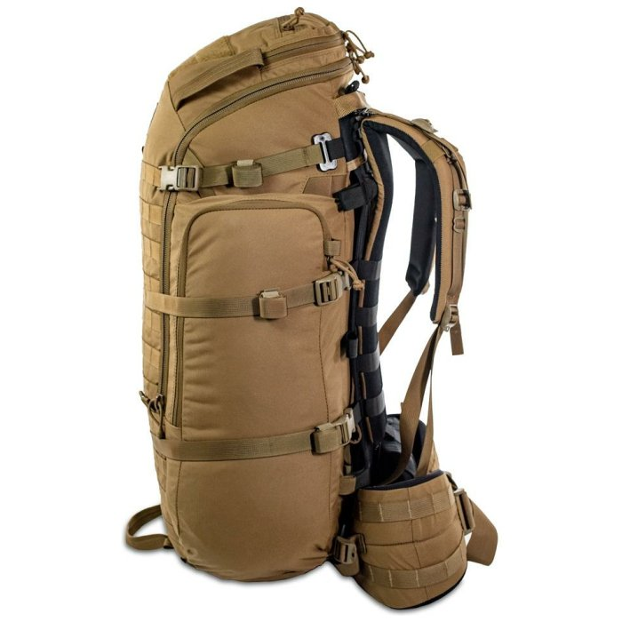 44 Mag (4,400 ci - 72 L Bag only) Side View Photo of Coyote Brown Color