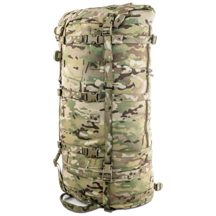 Cavern (6,500ci - 106L Bag only) Diagonal Front Photo of Multicam Color