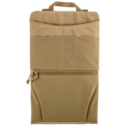 Chamber Slider Back of Pack in Coyote brown