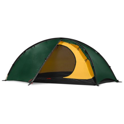 Hilleberg Niak Green Frontal Photo of Tent