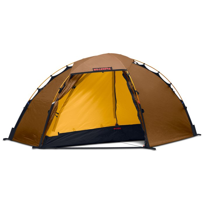 Hilleberg Soulo Sand Frontal Photo of Tent