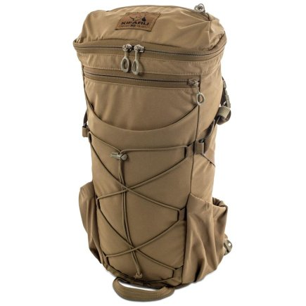 Kifaru International Door Gunner 1000ci - 16.38L Diagonal Photo of Coyote Brown Color Pack