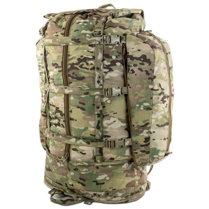 Kifaru International Fulcrum (29.5 Liters - 128 Liters Bag Only) Diagonal Photo of Multicam Color
