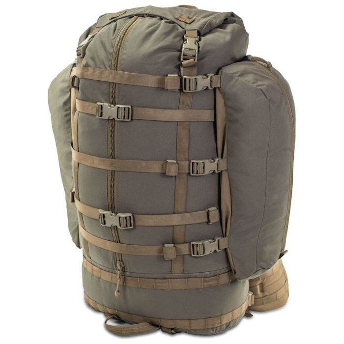 Kifaru International Fulcrum (29.5 Liters - 128 Liters Bag Only) with Extra Straps to Hold More Things
