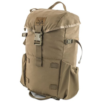 Kifaru International Urban Ruck (1,400ci - 22.9L - 1,700ci - 27.8L) Diagonal Photo of Coyote Brown Color