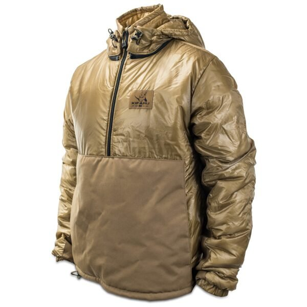 Lost Park Parka frontal photo of coyote brown color