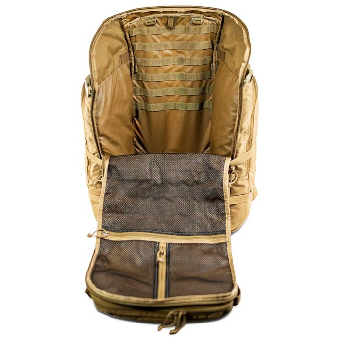 Ma Deuce (7,900 ci - 129 L) Bag Only Photo from Front with Main Zipper Open