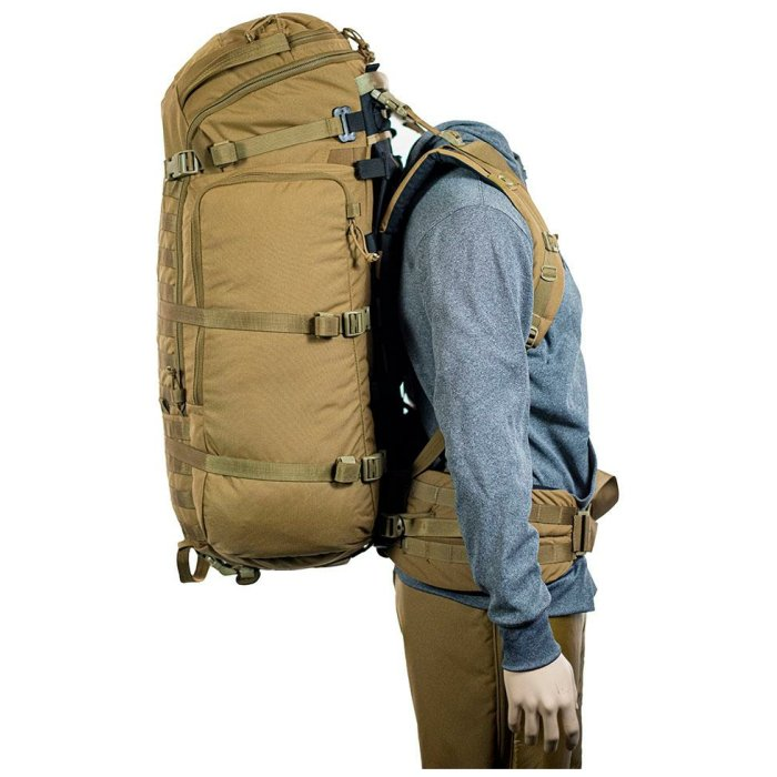 Ma Deuce (7,900 ci - 129 L) Bag Only Side View Photo of Bag with Mannequin