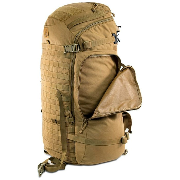 Ma Deuce (7,900 ci - 129 L) Bag Only Side View with Zipper Open