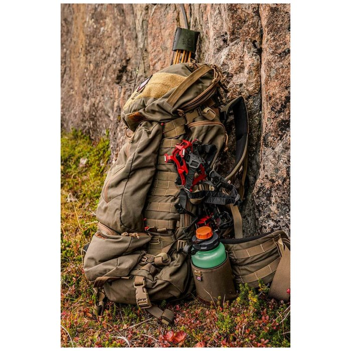 Ma Deuce (7,900 ci - 129 L) Bag Only Standing Against Rock Outside