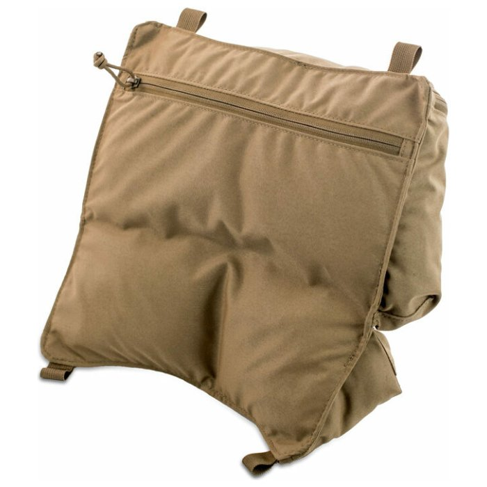 Organizer Guide Lid Back Diagonal Photo of Coyote Brown Color
