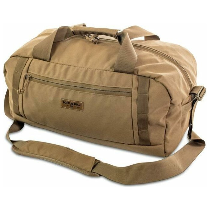 Rampart Duffel – 2000 ci - 32.77 L Diagonal Photo of Coyote Brown Color
