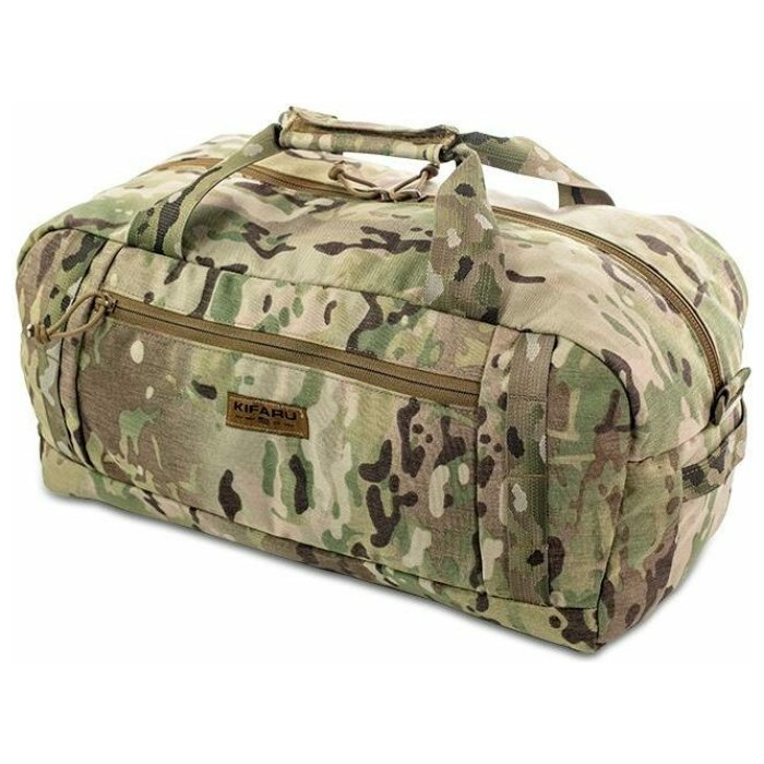 Rampart Duffel – 2000 ci - 32.77 L Diagonal Photo of Multicam Color