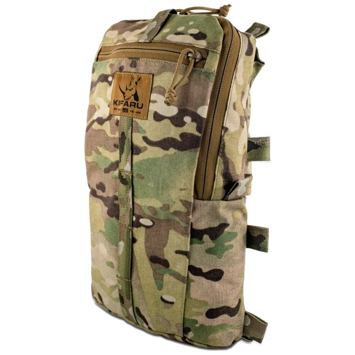 Sherman Pocket Diagonal Photo of Multicam Color