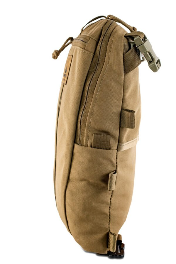 Sherman Pocket Side View Photo of Coyote Brown Color