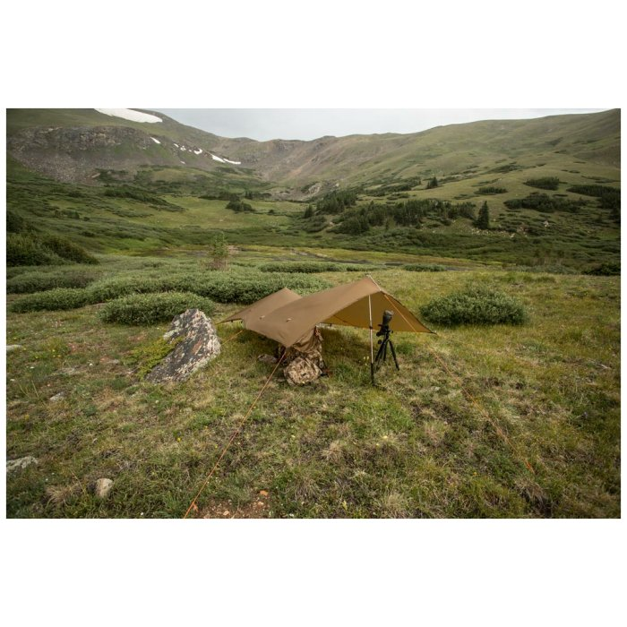 SuperTarp elevated photo with all surroundings visible mountains and fields for miles